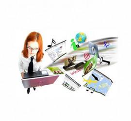 הקמת אתר אינטרנט משלב יצירת הקונספט ועד לאסטרטגיית השיווק.